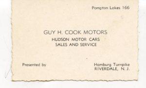 Hudson Motor Cars (1930s)