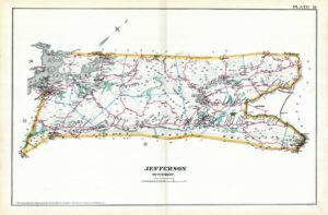 1887 map of Jefferson Twp NJ