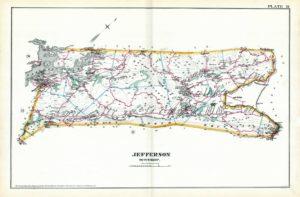 1887 map of Jefferson Twp NJ