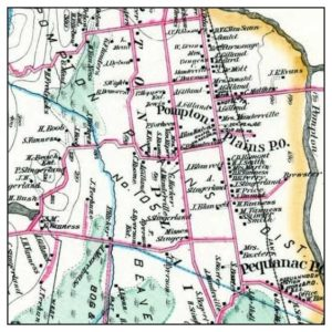 1887 map of Pequannock