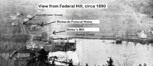 Richards corner, Riverdale NJ (about 1890)
