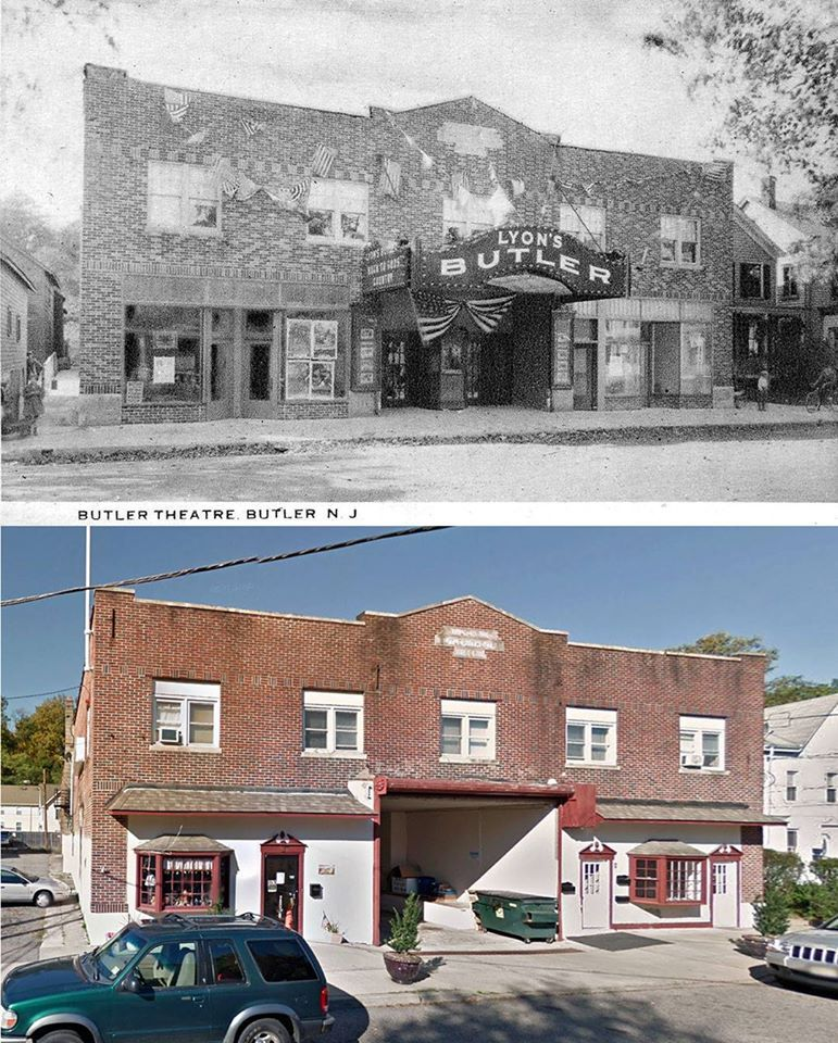 Butler Theatre then & now