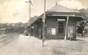 Erie RR Station, Butler NJ (1911)
