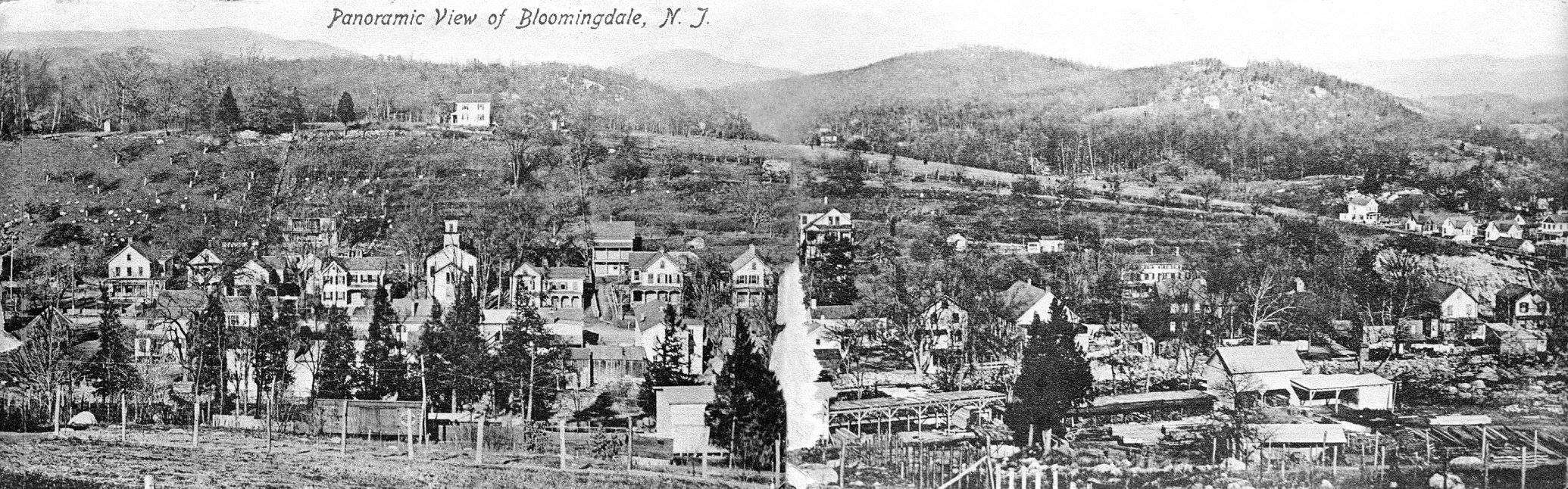 Panoramic View of Bloomingdale NJ (undated)