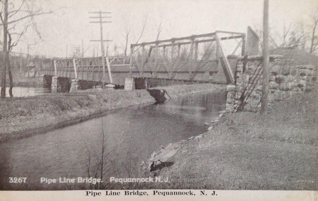Pipe Line bridge in Pequannock NJ.
